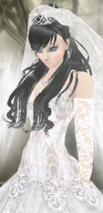 Imvu wedding dress