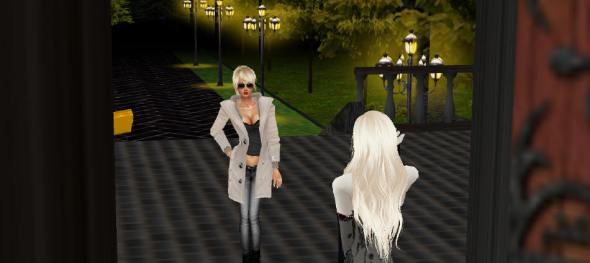 You never know what you'll find behind a door in IMVU