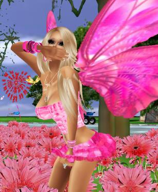 pink butterfly imvu fairy