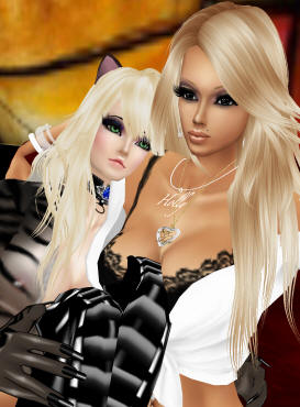 sexy cat girl cuddle in imvu