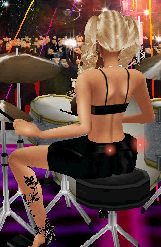 hot imvu drummer girl