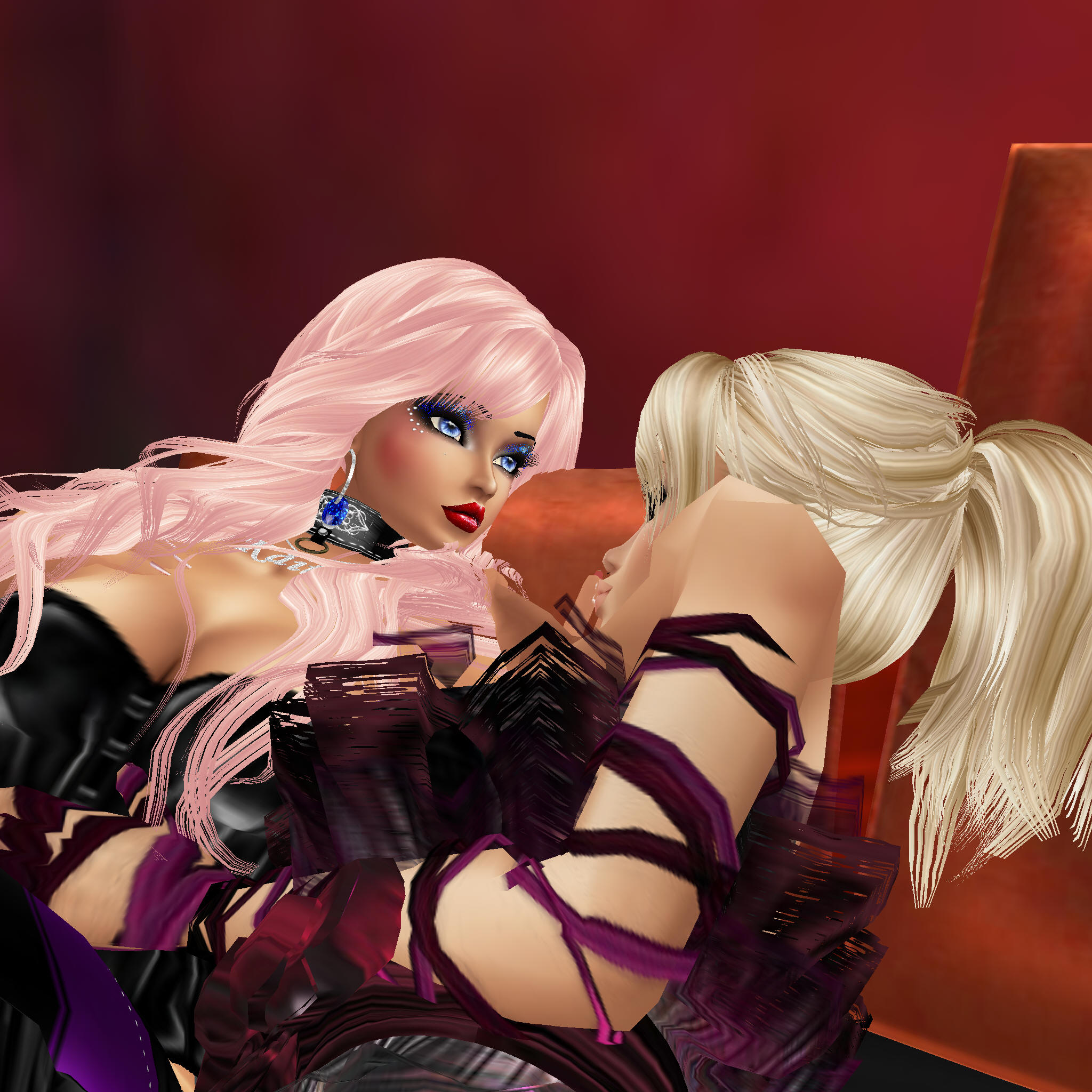 So IMVU sex isn't real but the person on the other side of the keyboard is ...