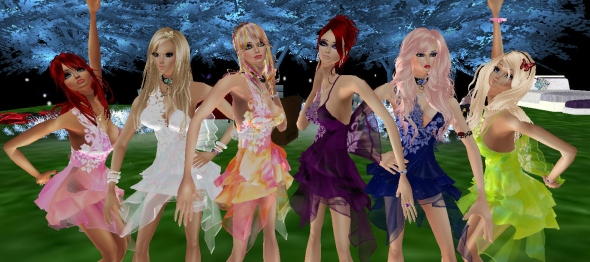 sexiest girls on imvu in the fashion show