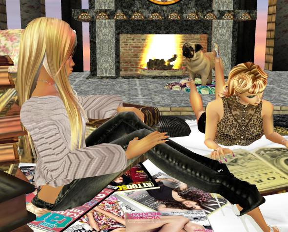 reading the instructions in imvu