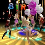 my imvu birthday party