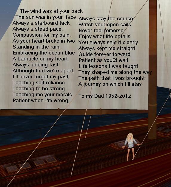 Susan's sailboat journey