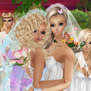 Katy and Susan Lyn IMVU wedding  (6)