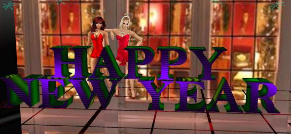 happy new year 2013 imvu