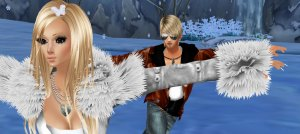 ice skating in imvu with erick
