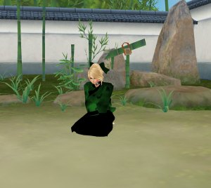 Ally's Geisha chores role play in imvu