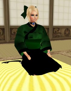 pretty Geisha girl in imvu
