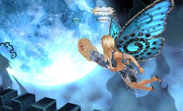 1Suzilyn in crazy castle flying over the moon (3)