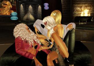 1Suzilyn quidlyn in LYN room sitting together on black 3 chair Katy in Thailand (8)