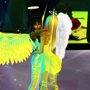 Allysonblackrose ArtisanBleueDoll dirtyroleplaygirl quidlyn colorful angels dancing in fashion club (53)
