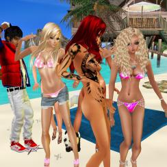 ArtisanBleueDoll quidlyn CyndiaStormHellion GabrielleBleueDOLL Fyxia 1Suzilyn dancing on Kims beach in a tight bunch joined DannyToy Misterysweetlove Guest_densejesteBMK Guest_LILBBENJAMIN (3)