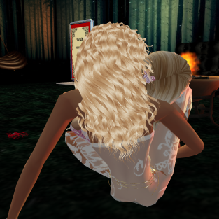 dirtyroleplaygirl intimate talking about the marriage the day before cuddling and kissing in the firefly room (2)