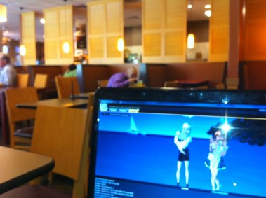 dirtyroleplaygirl our date at Panera Bread (2)