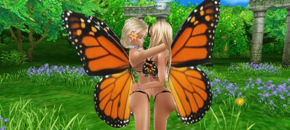 imvu completes me in butterfly love