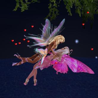 MistressSonyaSweet fairy nights flying floating proposal (1)