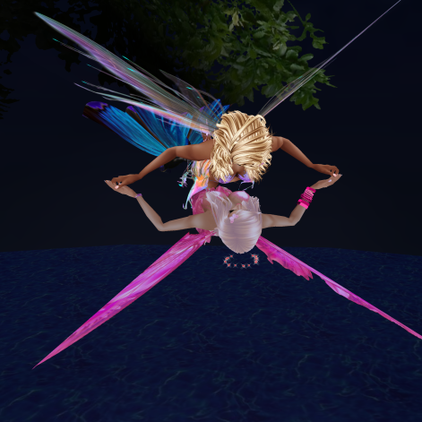 MistressSonyaSweet fairy nights flying floating proposal (12)