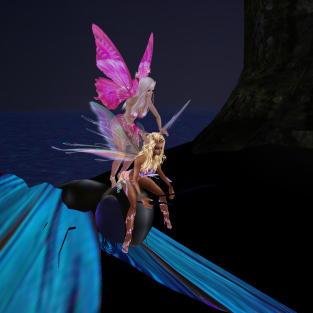 MistressSonyaSweet fairy nights flying floating proposal (26)