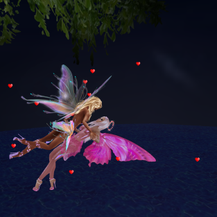 MistressSonyaSweet fairy nights flying floating proposal (4)