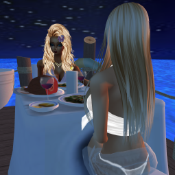 MistressSonyaSweet talking and sharing then sharing great passion then talking on the date dock eating lunch (10)