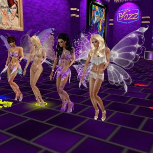 1Taylyn Rod4k quidlyn stephijxx joined GabrielaCortes Coraem MzStackZxBeDolledUp msSlinkySilks TobyVYUM Fairy night dancing in the purple club gabby still away (34)