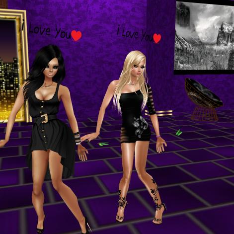 GabrielaCortes GabrielleBleueDOLL Allysonblackrose Taylor122012 ToniSheDragon Heatxo Rod4k annaleedevane Prianka06 DannyToy teasing Danny Toni came in mostly naked dancing in purple club (3)