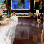 kaitlyn and Taylor imvu wedding reception dance