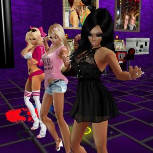 quidlyn stephijxx 1Taylyn joined nawtyJay Allysonblackrose GabrielaCortes NawtyCharli StephanieLovesPinkxx in purple room kind of nerdy just fun relaxing together (12)