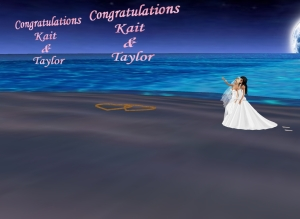 Kaitlyn & Taylor happily married