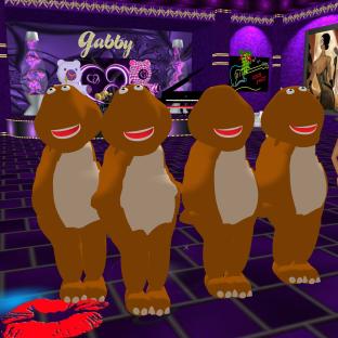 stephijxx GabrielleBleueDOLL 1Taylyn joined Coraem Allysonblackrose Friskable annaleedevane Rod4k red white and blue showgirls dinosaurs and fun in purple club (5)