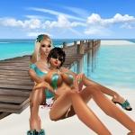 sunny beach in imvu