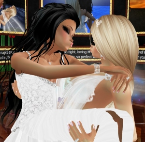 imvu wedding kiss