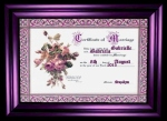 imvu wedding certificate
