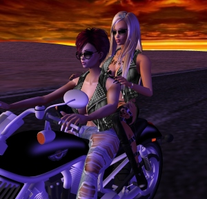 imvu motorcycle chics