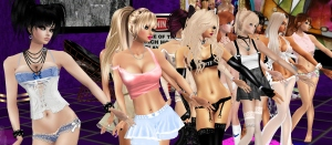 Night Shift imvu sexy girls dancing