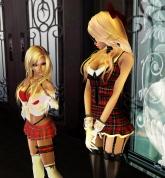 short and tall sexy schoolgirls